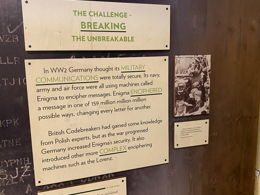 Background to the code-breaking operations at Bletchley Park