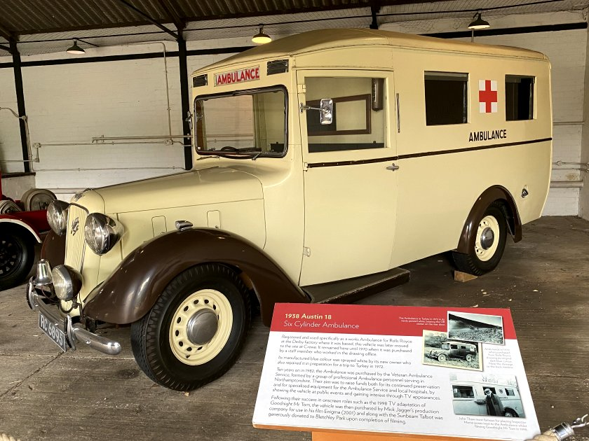 Emergency vehicle of the period