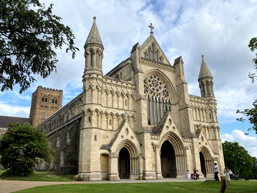 The Cathedral and Abbey Church of St Alban ...