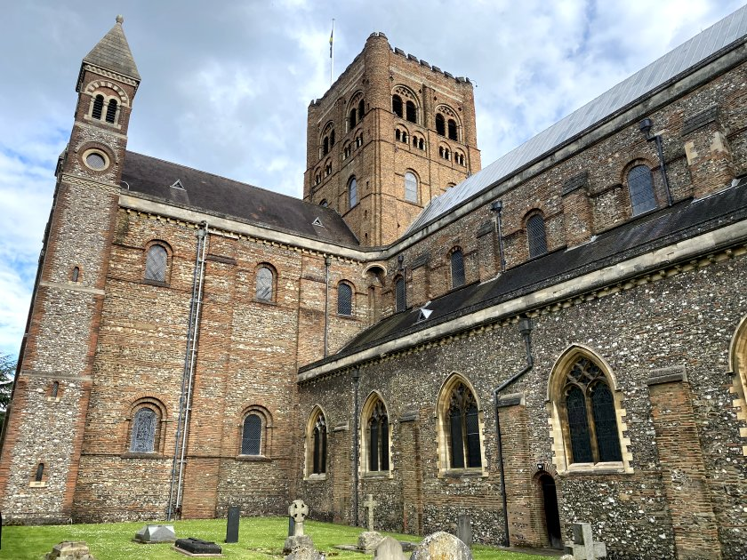 ... better known as St Albans Cathedral ...
