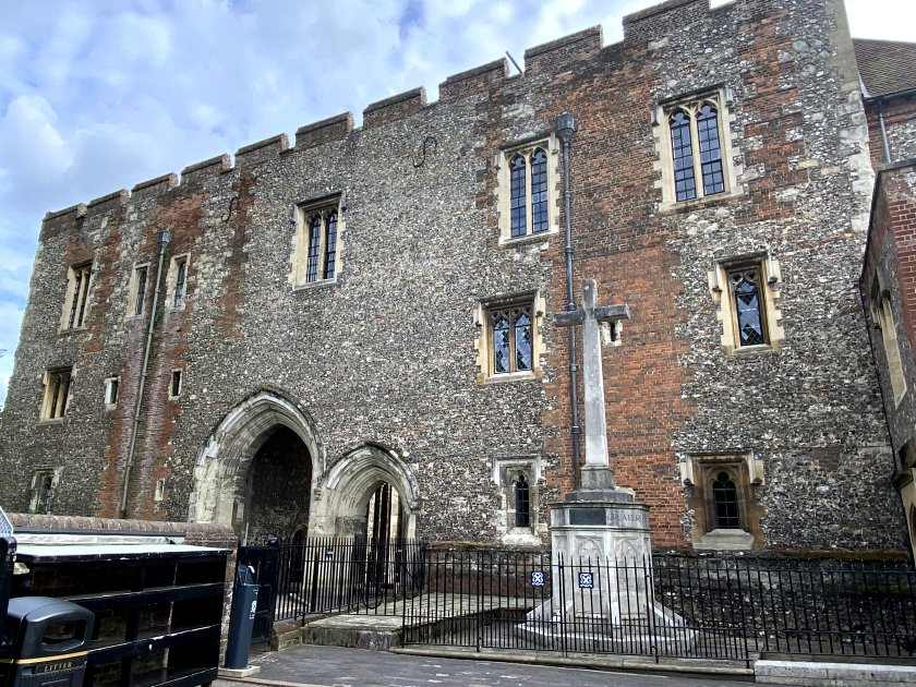 Apart from the cathedral itself, Abbey Gate is the sole survivor of the original monastery