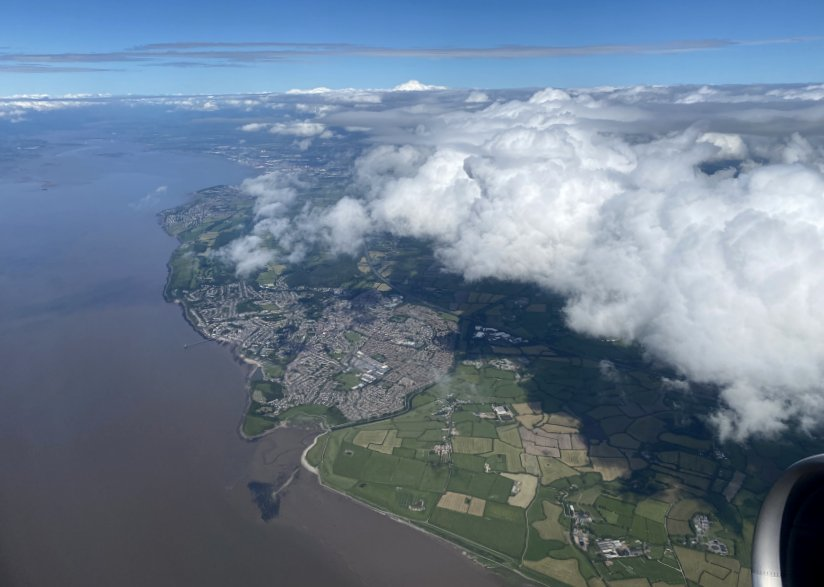 Above the Severn